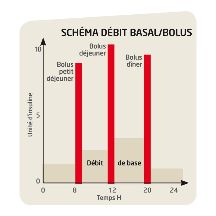 Shema débit Basal/Bosul